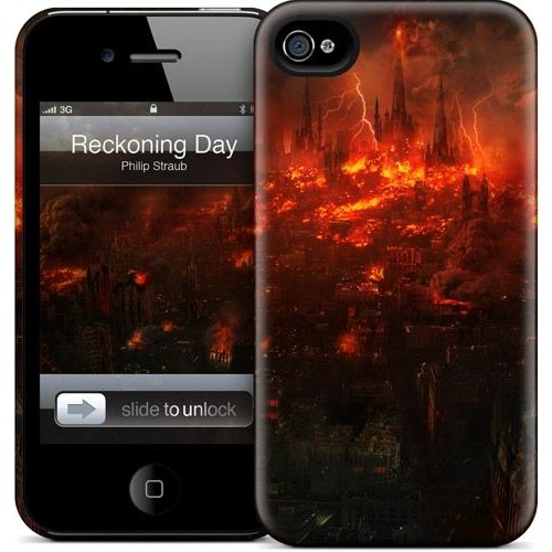 Gelaskins Apple iPhone 4 Hardcase Kılıf Reckoning Day