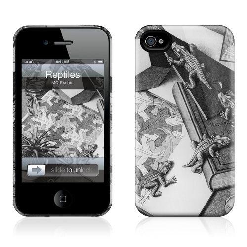 Gelaskins Apple iPhone 4 Hardcase Kılıf Reptiles