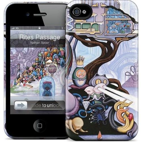 Gelaskins Apple iPhone 4 Hardcase Kılıf Rites Passage
