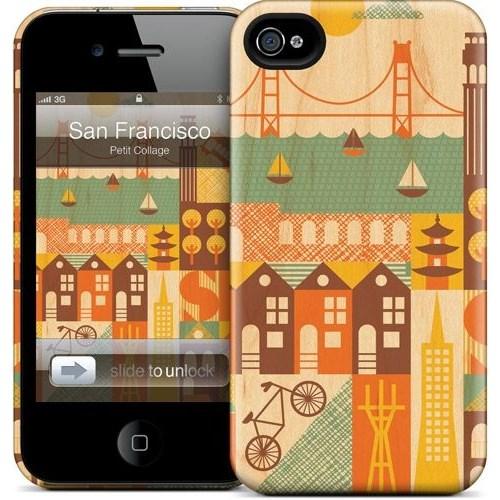 Gelaskins Apple iPhone 4 Hardcase Kılıf San Francisco