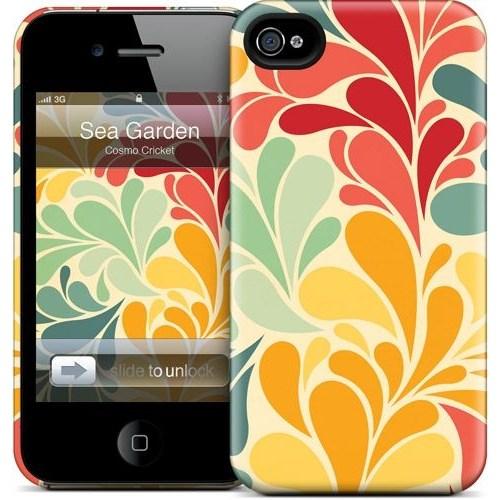 Gelaskins Apple iPhone 4 Hardcase Kılıf Sea Garden