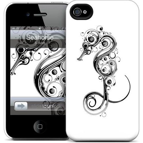 Gelaskins Apple iPhone 4 Hardcase Kılıf Seahorse