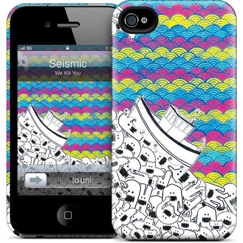 Gelaskins Apple iPhone 4 Hardcase Kılıf Seismic