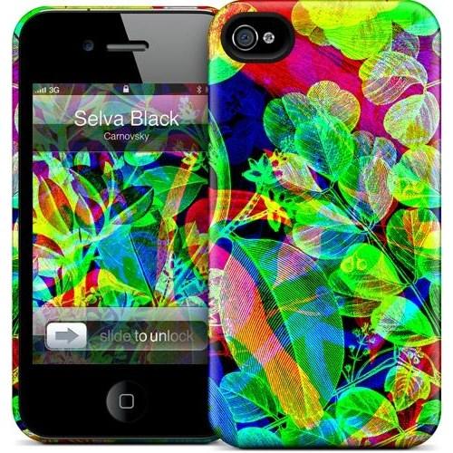 Gelaskins Apple iPhone 4 Hardcase Kılıf Selva Black