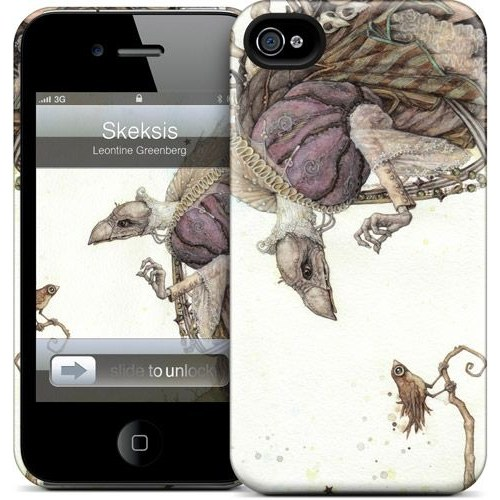 Gelaskins Apple iPhone 4 Hardcase Kılıf Skeksis