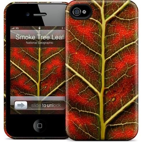 Gelaskins Apple iPhone 4 Hardcase Kılıf Smoke Tree Leaf