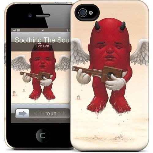 Gelaskins Apple iPhone 4 Hardcase Kılıf Soothing The Soul