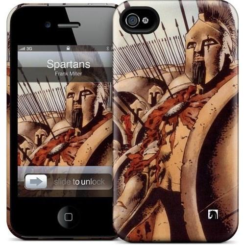 Gelaskins Apple iPhone 4 Hardcase Kılıf Spartans