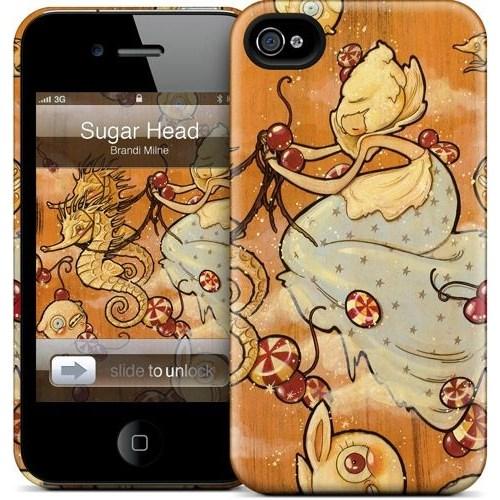 Gelaskins Apple iPhone 4 Hardcase Kılıf Sugar Head In The Sky