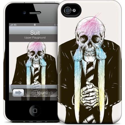 Gelaskins Apple iPhone 4 Hardcase Kılıf Suit