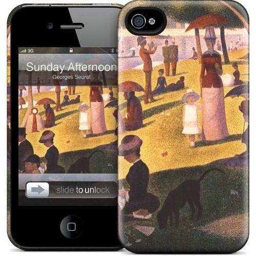 Gelaskins Apple iPhone 4 Hardcase Kılıf Sunday Afternoon On T