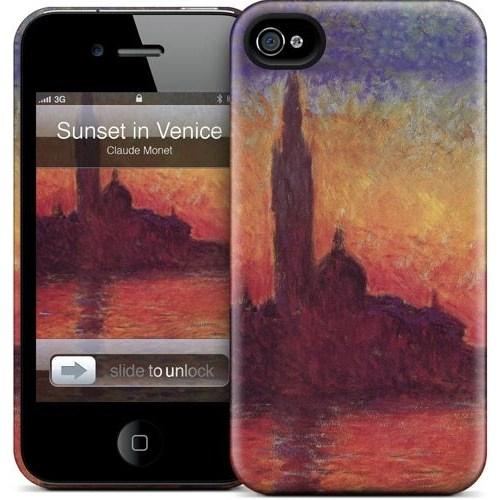 Gelaskins Apple iPhone 4 Hardcase Kılıf Sunset In Venice