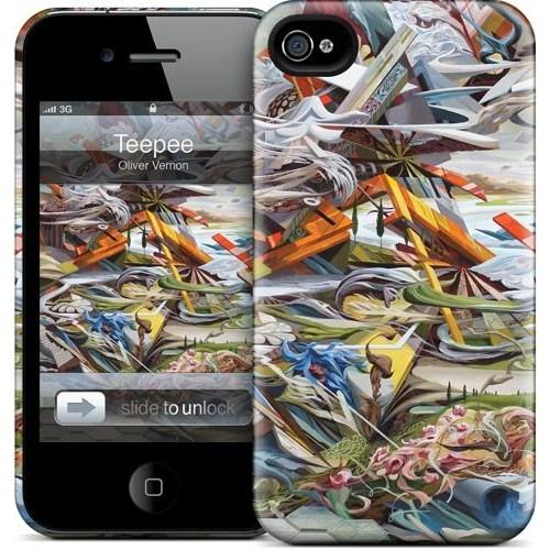 Gelaskins Apple iPhone 4 Hardcase Kılıf Teepee