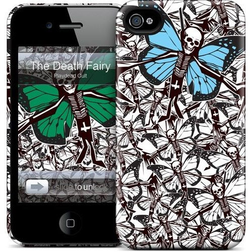 Gelaskins Apple iPhone 4 Hardcase Kılıf The Death Fairy