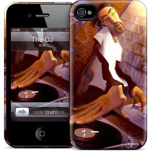 Gelaskins Apple iPhone 4 Hardcase Kılıf The Dj