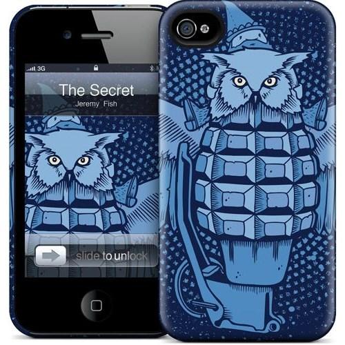 Gelaskins Apple iPhone 4 Hardcase Kılıf The Secret Weapon