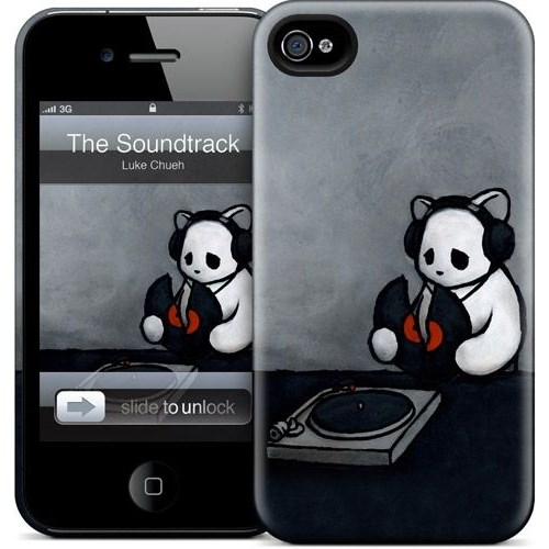 Gelaskins Apple iPhone 4 Hardcase Kılıf The Soundtrack