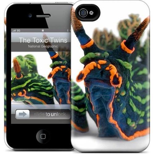 Gelaskins Apple iPhone 4 Hardcase Kılıf The Toxic Twins
