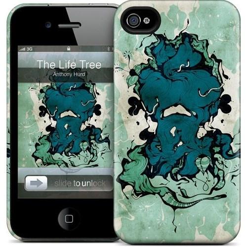 Gelaskins Apple iPhone 4 Hardcase Kılıf The Tree Of Life