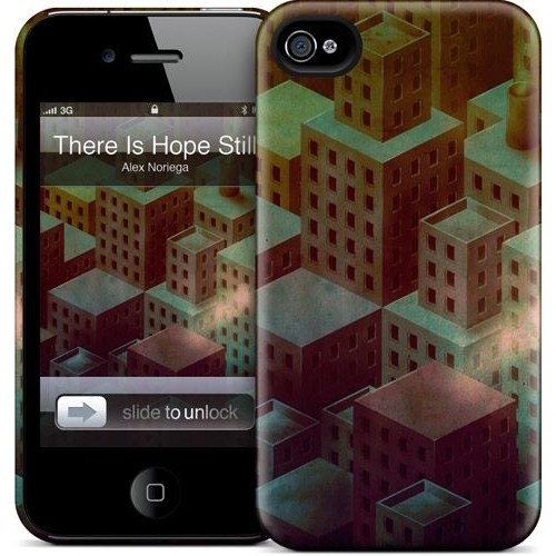 Gelaskins Apple iPhone 4 Hardcase Kılıf There Is Hope Still