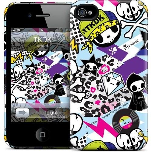 Gelaskins Apple iPhone 4 Hardcase Kılıf Tkdk
