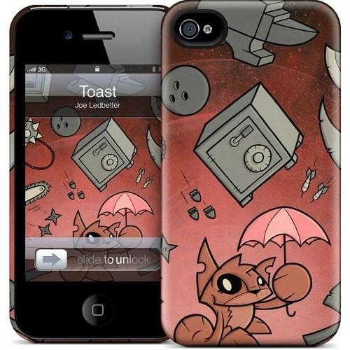 Gelaskins Apple iPhone 4 Hardcase Kılıf Toast