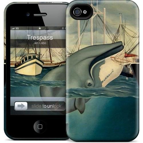 Gelaskins Apple iPhone 4 Hardcase Kılıf Trespass