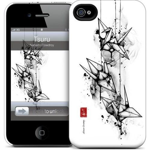 Gelaskins Apple iPhone 4 Hardcase Kılıf Tsuru