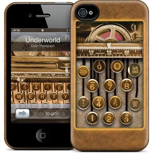 Gelaskins Apple iPhone 4 Hardcase Kılıf Underworld