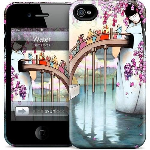 Gelaskins Apple iPhone 4 Hardcase Kılıf Water