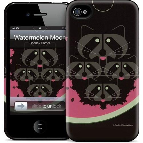 Gelaskins Apple iPhone 4 Hardcase Kılıf Watermelon Moon