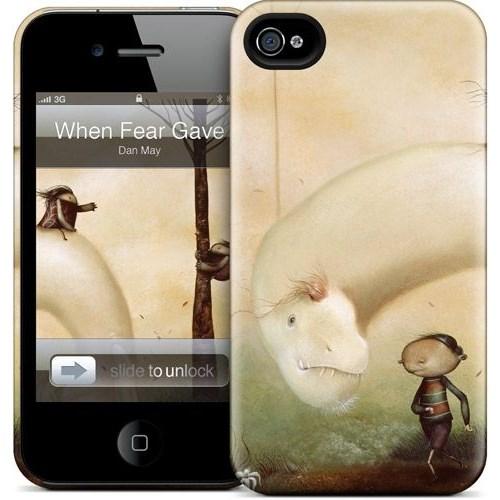 Gelaskins Apple iPhone 4 Hardcase Kılıf When Fear Gave Way