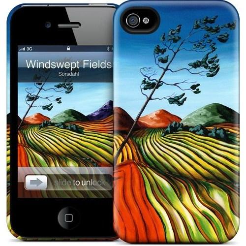 Gelaskins Apple iPhone 4 Hardcase Kılıf Windswept Fields
