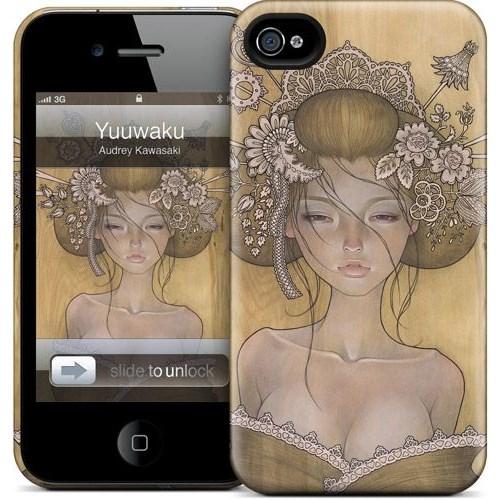 Gelaskins Apple iPhone 4 Hardcase Kılıf Yuuwaku