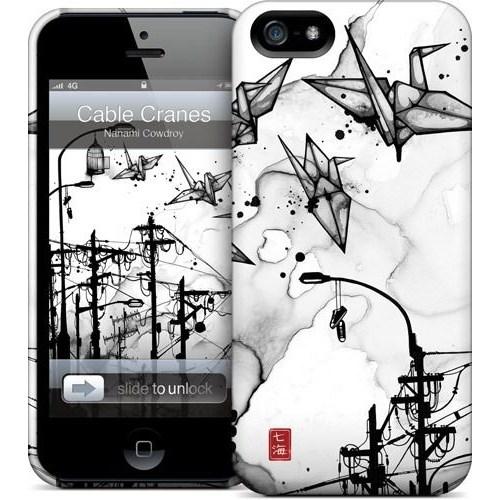 Gelaskins Apple iPhone 5 Hardcase Kılıf Cable Cranes