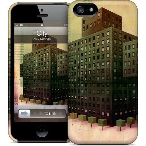 Gelaskins Apple iPhone 5 Hardcase Kılıf City