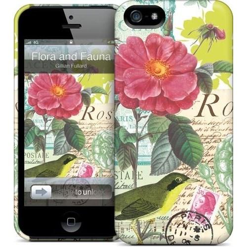 Gelaskins Apple iPhone 5 Hardcase Kılıf Flora And Fauna