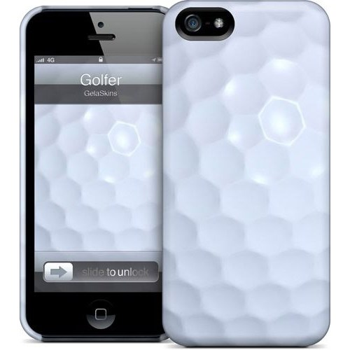 Gelaskins Apple iPhone 5 Hardcase Kılıf Golfer