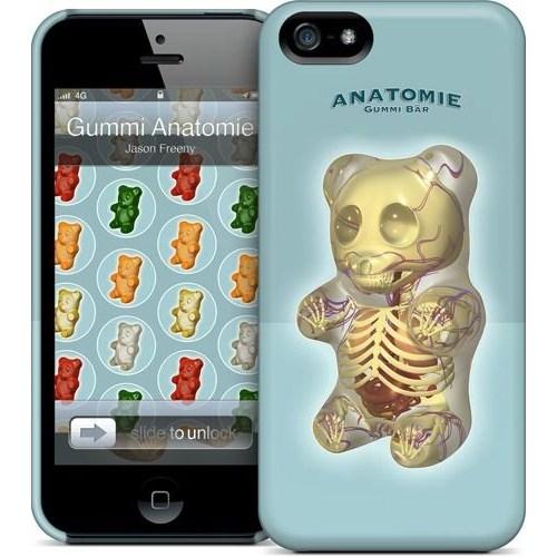 Gelaskins Apple iPhone 5 Hardcase Kılıf Gummi Anatomie