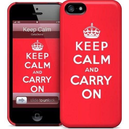 Gelaskins Apple iPhone 5 Hardcase Kılıf Keep Calm