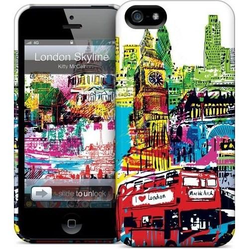 Gelaskins Apple iPhone 5 Hardcase Kılıf London Skyline