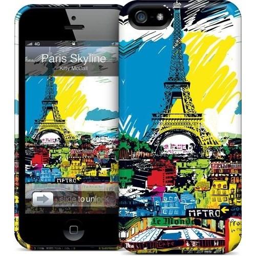 Gelaskins Apple iPhone 5 Hardcase Kılıf Paris Skyline