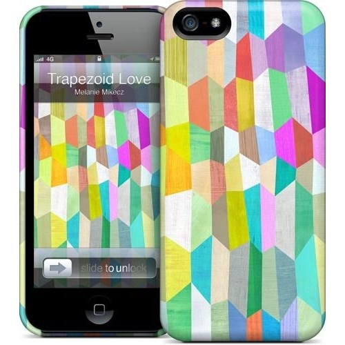 Gelaskins Apple iPhone 5 Hardcase Kılıf Trapezoid Love