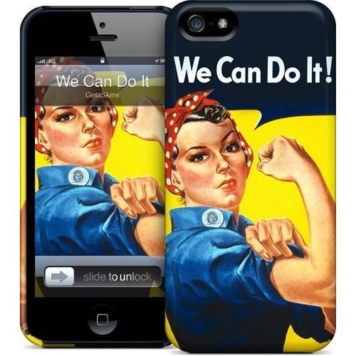 Gelaskins Apple iPhone 5 Hardcase Kılıf We Can Do It