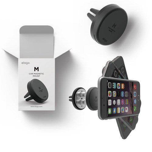 Elago Evrensel Manyetik Araç İçi Telefon Tutacağı