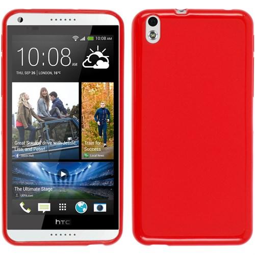 KılıfShop Htc Desire 816 Silikon Kılıf (Kırmızı)