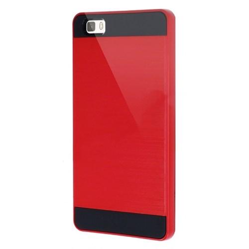 KılıfShop Huawei P8 Lite Tam Koruma Kılıf (Kırmızı)
