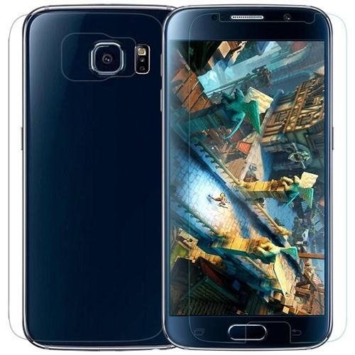 KılıfShop Samsung Galaxy S6 Edge Ekran Koruyucu Ön Arka