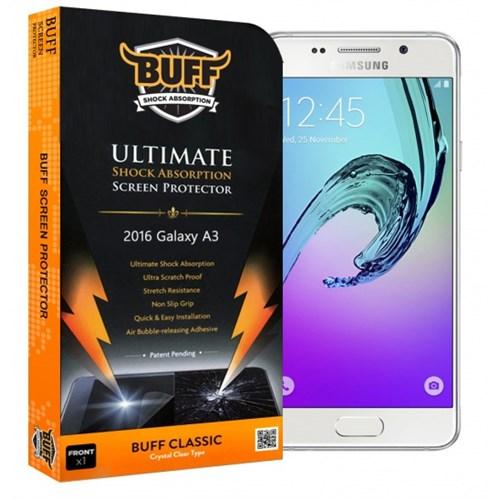 Buff Samsung Galaxy A3 2016 Darbe Emici Ekran Koruyucu Film