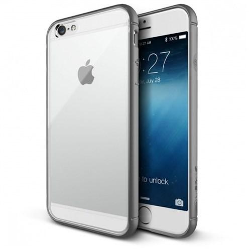 Verus İphone 6S Plus Kılıf Crystal Mixx Grey Case